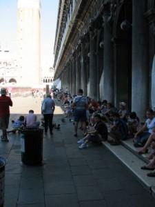 Turisti ma Piazza San Marco - Benátky