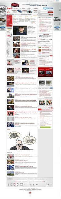 Sme.sk Titulka z 5.2.2013