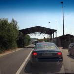 Čieronohorsko - Albánska hranica - 45 minút tam a 65 minút späť.
