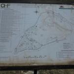 Pevnosť Rozafa - schematický plán. Ani vedľa nášho Spišského hradu by sa nemusela červenať.